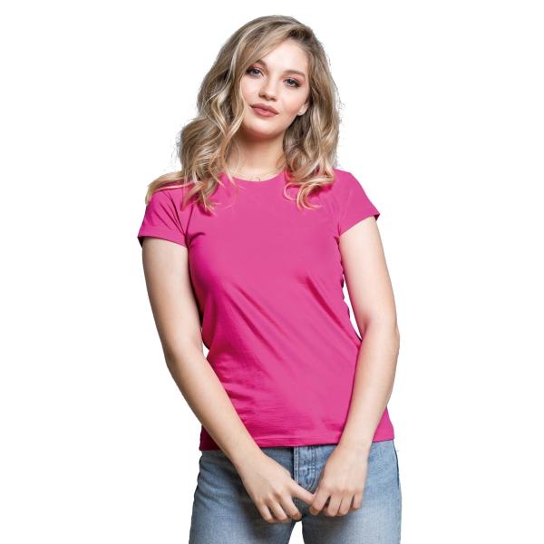 d92db15388c Dámské tričko s vlastním potiskem s krátkým rukávem