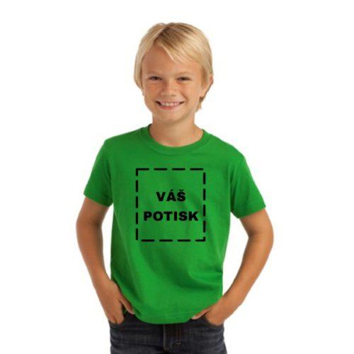 Dětské zelené triko