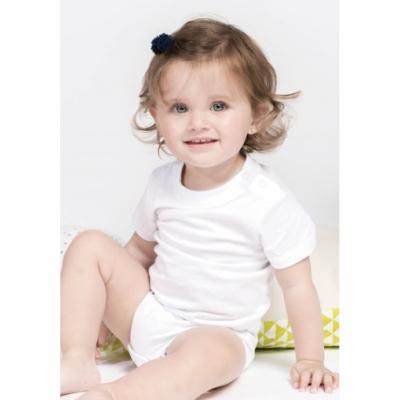 Dětské body Kariban bílé