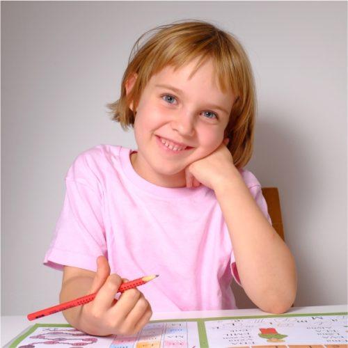 Dětské triko světle růžové