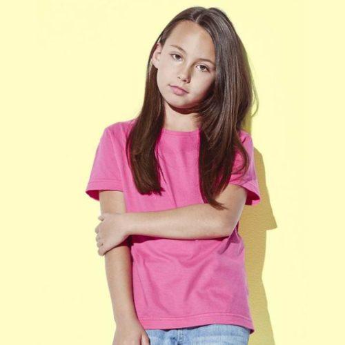 Dětské triko růžové