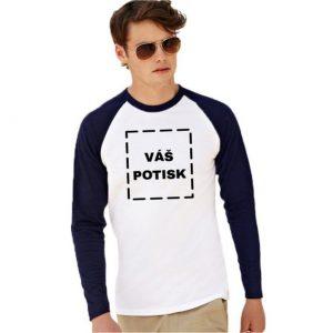 Vlastní potisk na basebalové triko