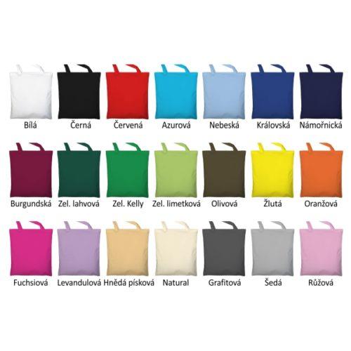 Barvy tašek s dlouhými uchy