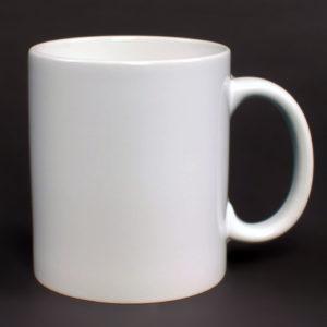 bílý hrneček s vaší fotografií