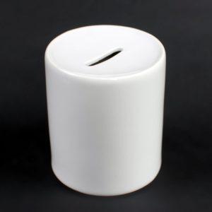 Kasička bílá