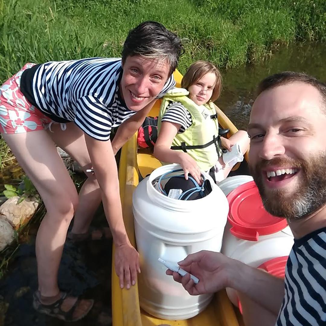 Crashtest našich vodáckých triček s vlastním potiskem